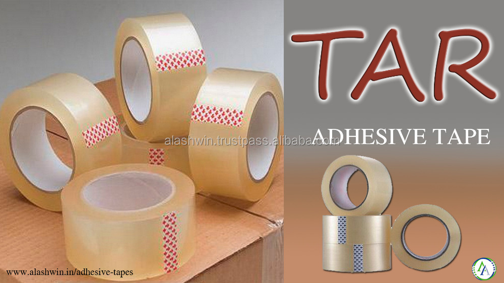 adhesive clear easy tear tape
