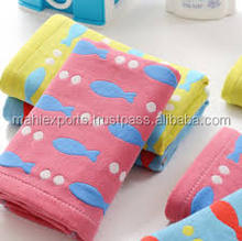 Bath use 100% cotton plain design personal travel towel
