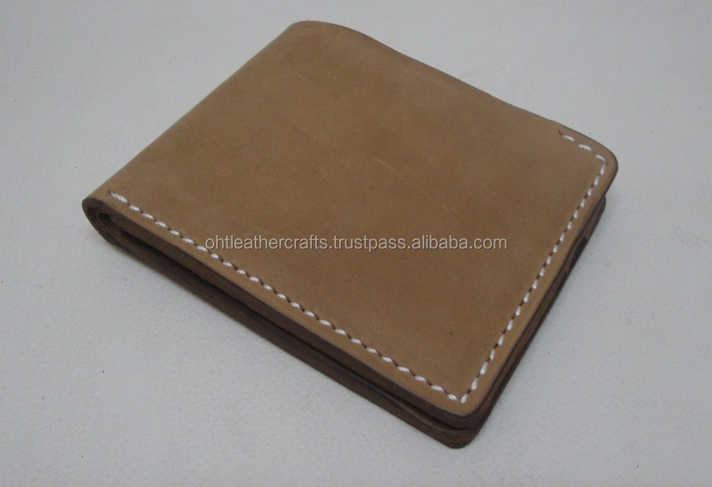 Cow Vintage Mens Leather Wallet