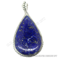 sterling silver pendant wholesale,lapis lazuli pendant,jewelry manufacturer for sale