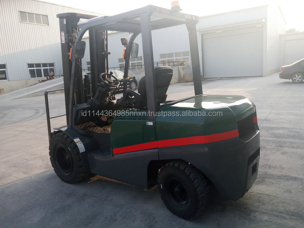 4 ton TCMC diesel forklift tractor 3 point forklift Factory processing