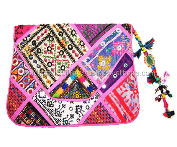 Embroidery attractive banjara rajasthani clutch bag
