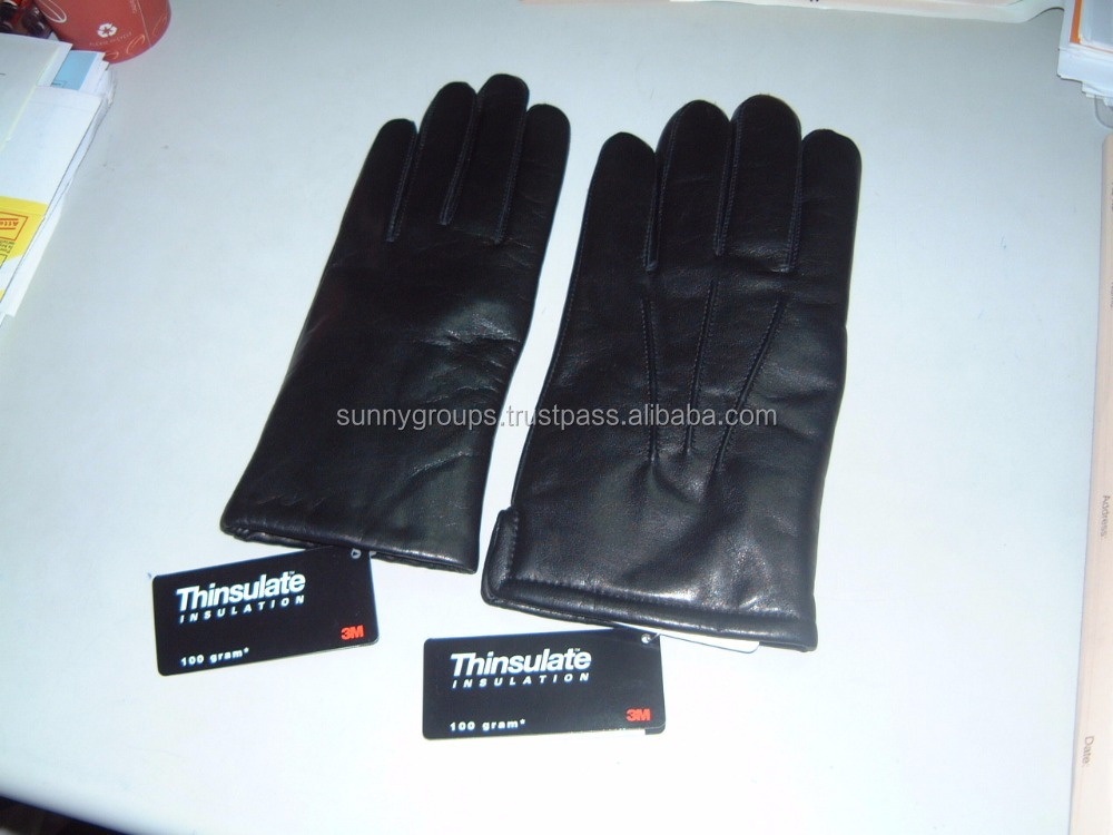 Leather Dressing Gloves with 3M Thinsulate