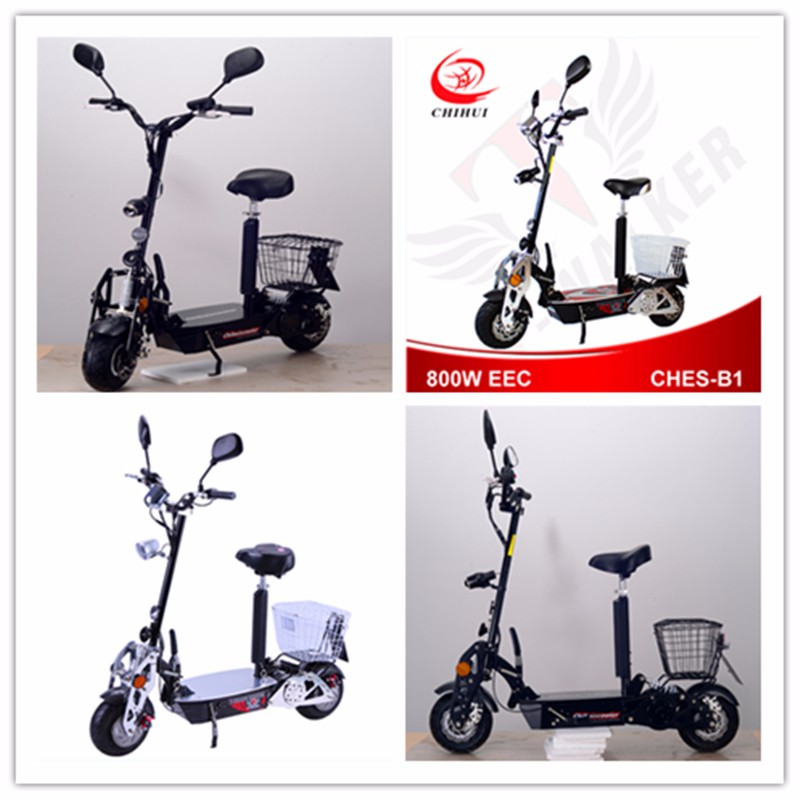 chihui 800w foldable brushness electric scooter buy 800w. Black Bedroom Furniture Sets. Home Design Ideas