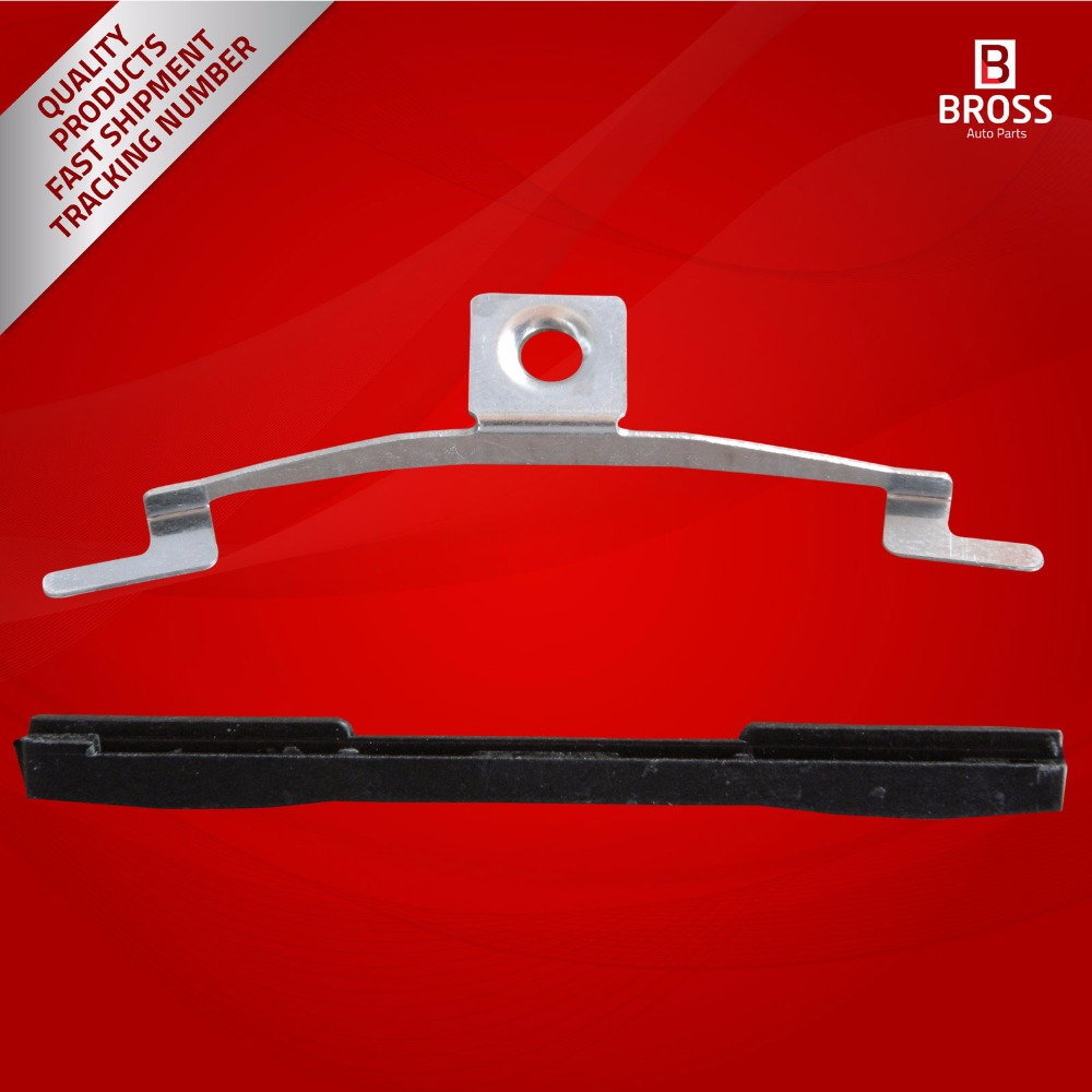 2 Sets Sunroof Shade Guide Rail Clips Slider Brackets For V.W Jetta Golf Rabbit GTI MK4 Beetle Passat
