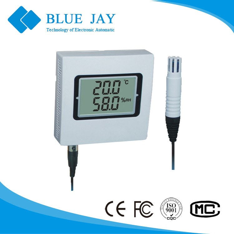 HE400A-EX 4mA ~ 20mA output, -30C ~ 70C Temperature and Humidity Transmitter 4 Keys for Setup and Calibration