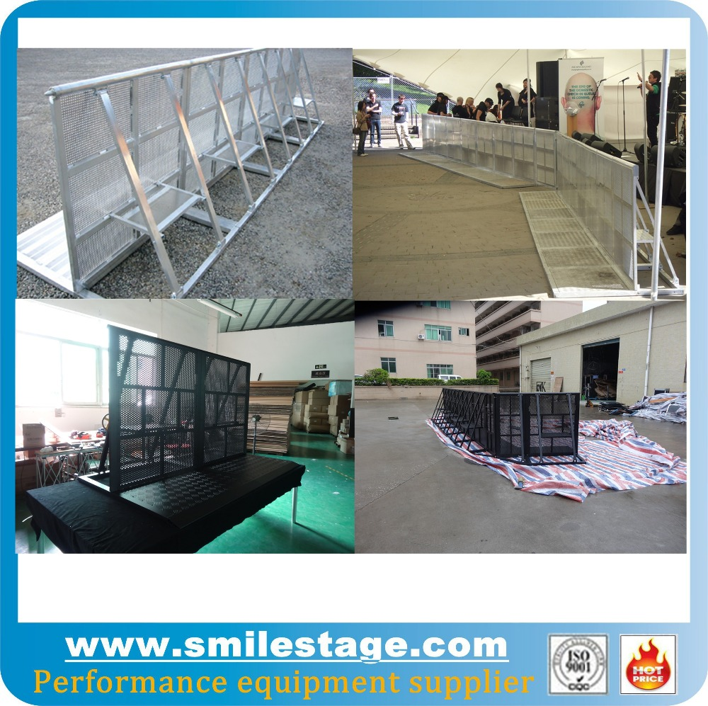 aluminum crash barriers aluminum crowd control barrier mojo barriers
