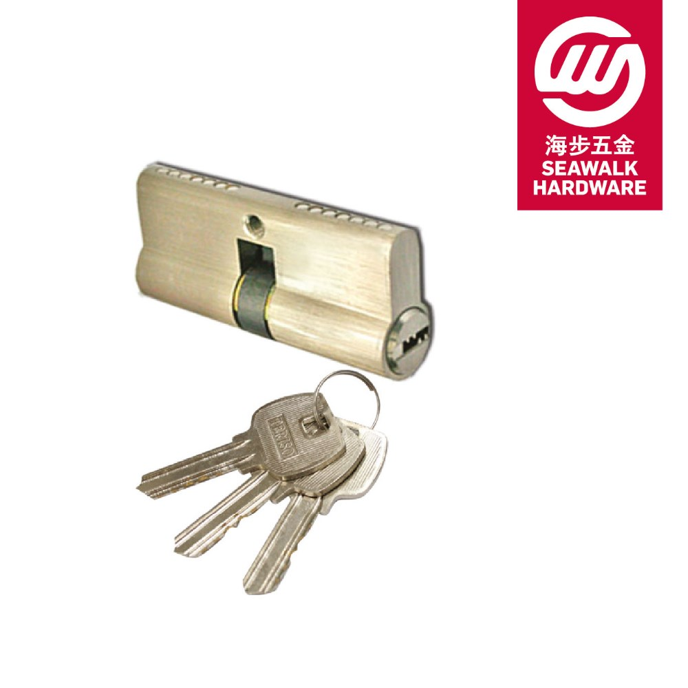 2017 Best Quality Double Cylinder with Computer Key