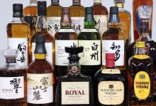 High-quality Japanese whisky produced with fine alcohol distilling technique