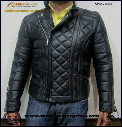 quilted leather jackets production Pakistan