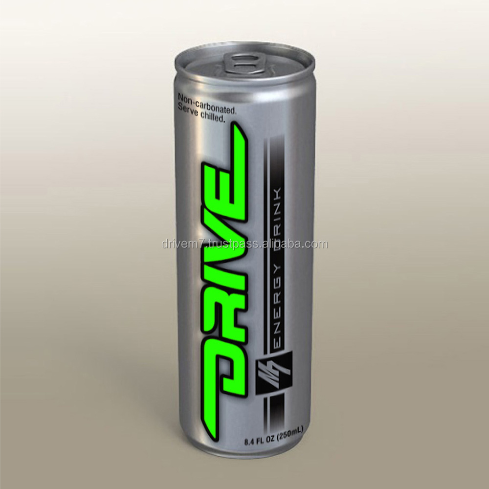 DRIVE M7 Non Carbonated Tin Energy Drink in Malaysia