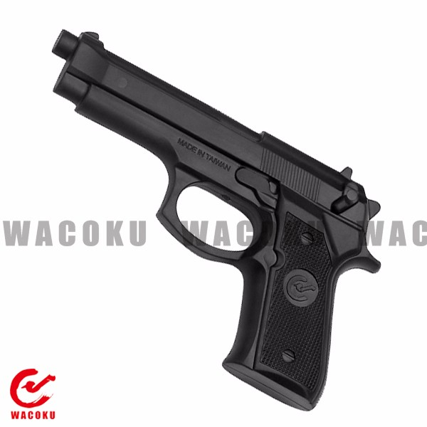 Training Rubber Pistol/ Martial arts training weapon