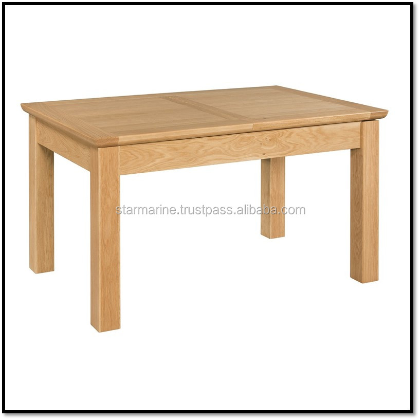 Extending Dinning table 1200/1600 Dinning Room Furniture Made in Viet Nam