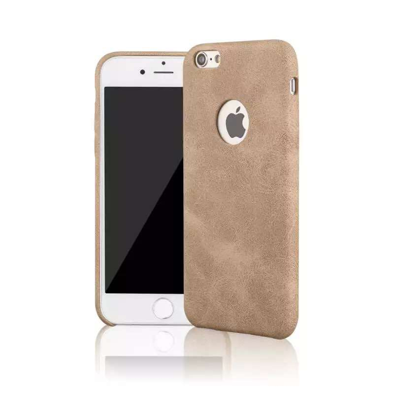 Hight Quality Leather Dirt Shock Proof mobile phone case back cover For Apple iphone7/7plus