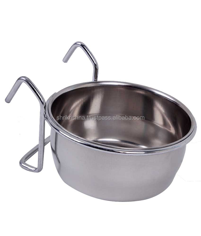 Birds/Bowl feeding stainless steel / bowl for dish/Bird Feeders