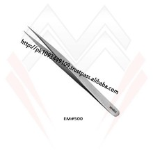 Straight Eyelash Extension Tweezers / Satin Color Eyelash Tweezers MARIG SURGICAL CO