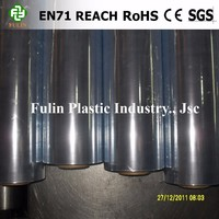pvc film packaging material roll to make bags or raincoat material or for packing