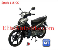 Spark 115cc disc brake electric start gas motor scooter (2016)