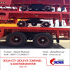 Heavy Duty Flatbed Semi Trailer With