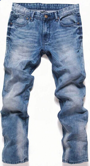 2016 New arrival Wholesale Denim Destroyed Cansual men's Jeans very popular in the worldwide marketing