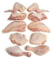 frozen chicken parts