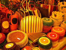 Coir mats and decoration items