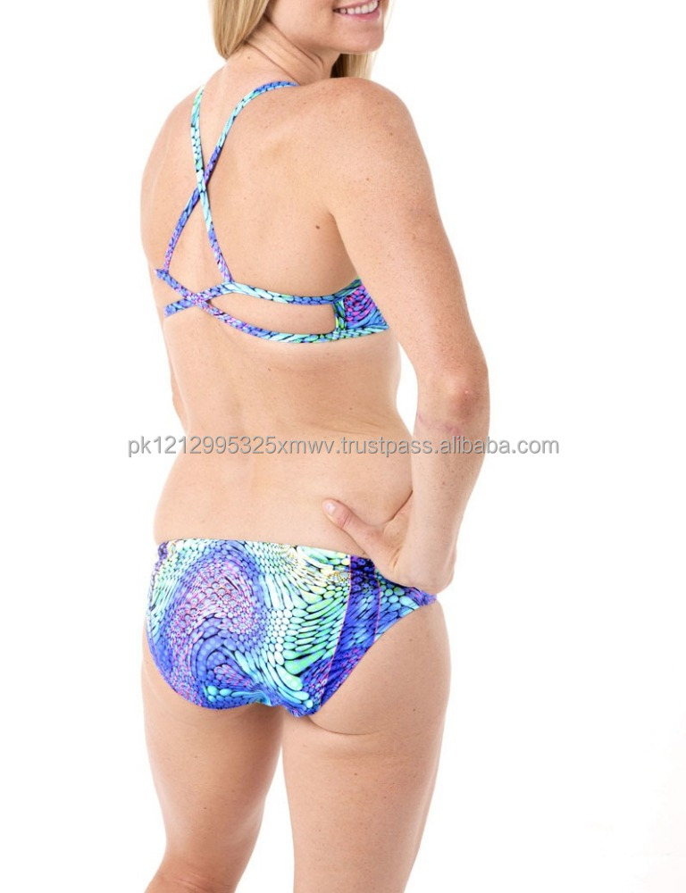 Brand Name AS Bikini One Piece Sexy Ladies Halter Swimwear Body on Bandage Beachwear