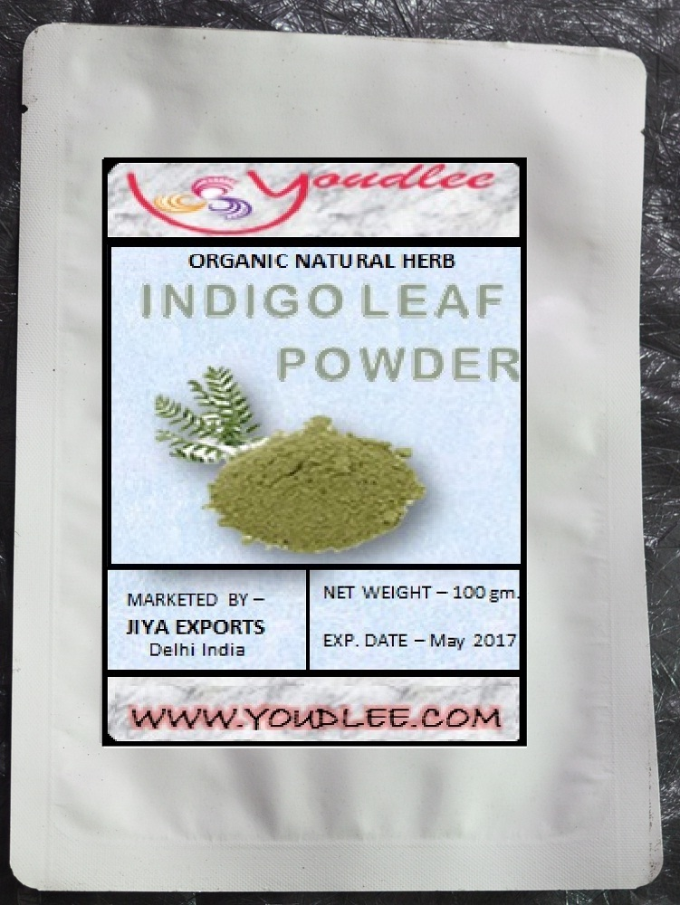 INDIAN 100% Natural Pure INDIGO LEAF Powder