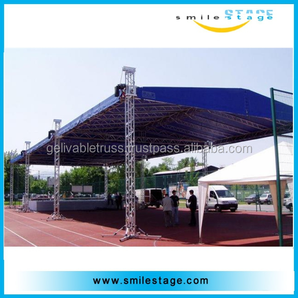 outdoor events space frame exhibition truss bracket