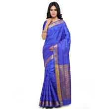 Admirable Blue Colored Art Silk Jacquard Saree