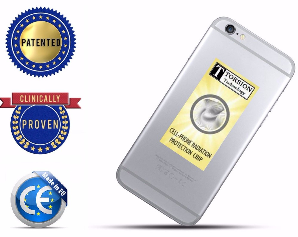 Anti radiation protection EMF sticker chip for cell phones,patented in Switzerland