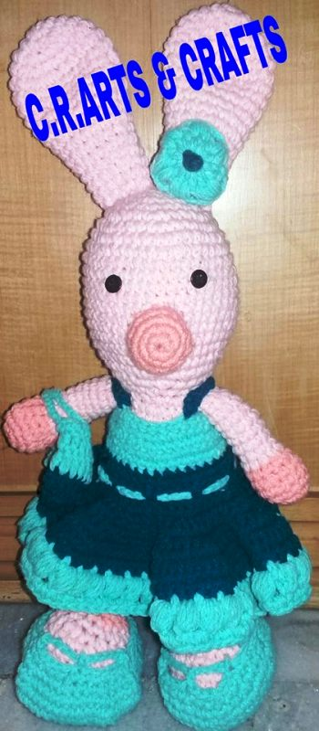 crochet bunny doll for kids suppliers