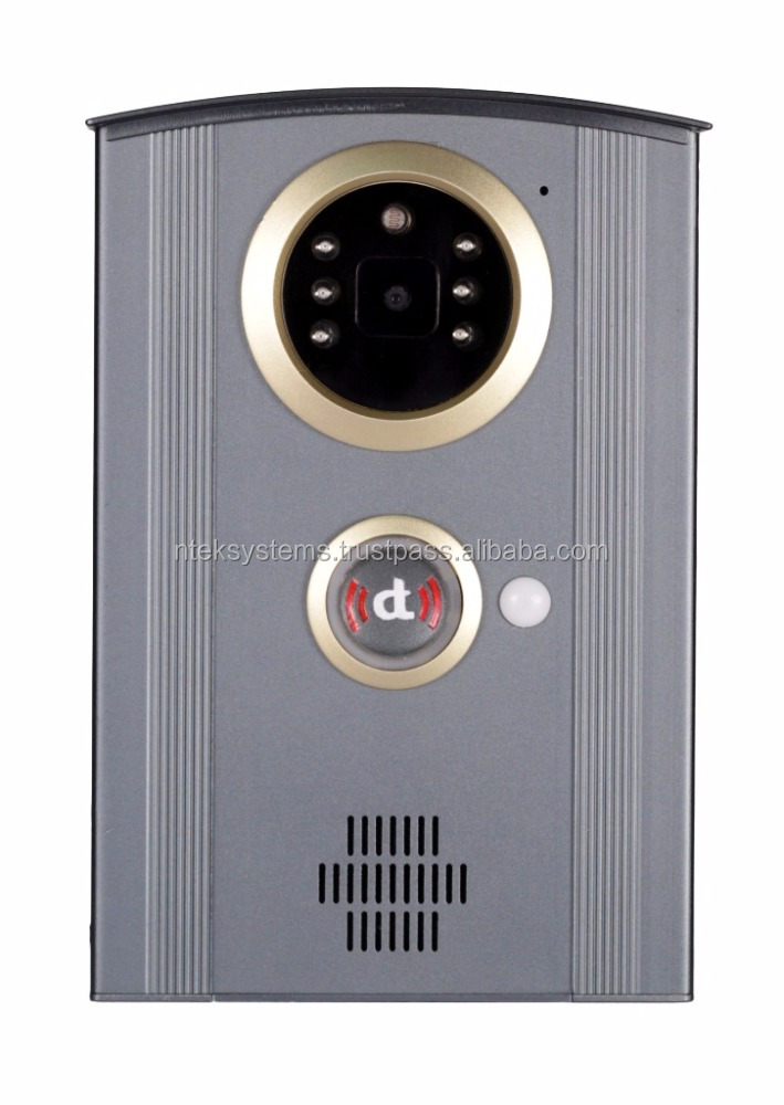 SIP-based, Wifi, VoIP enabled Smart Video Intercom and Door Phone (DoorTalk Premium)