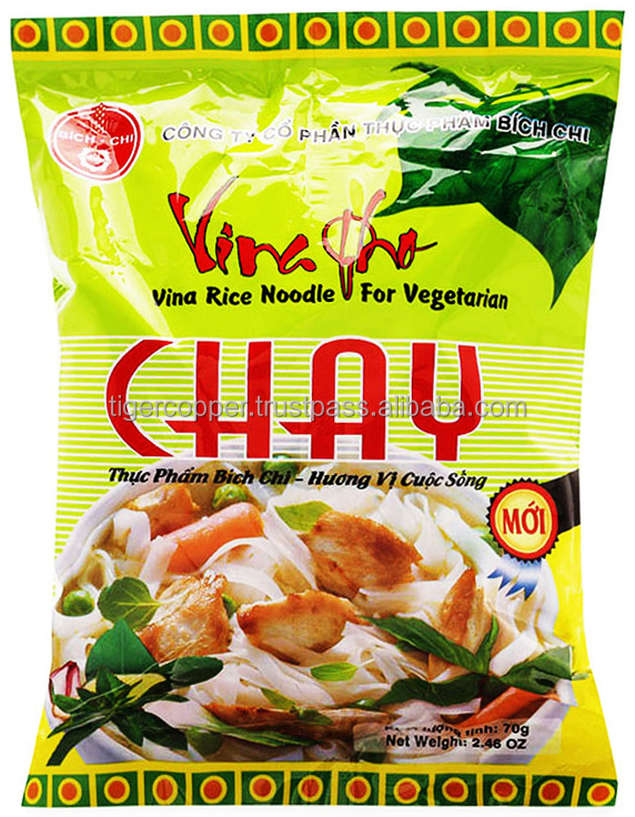 VINA PHO VINA RICE NOODLE FOR VEGETARIAN PACK 70G
