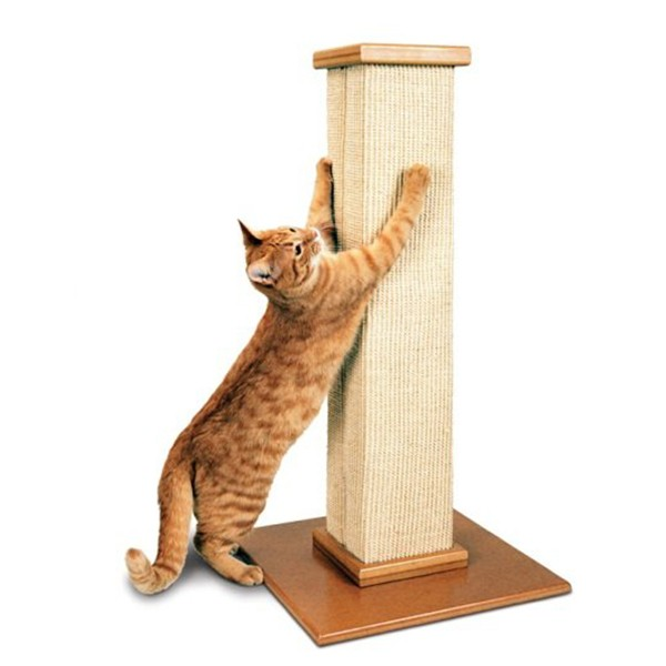 High Quality Wooden Cat Scratching Tower