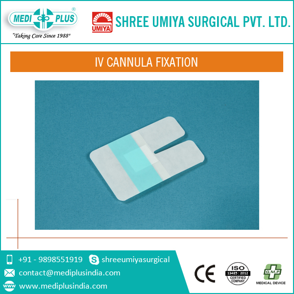 Brand New 'U' Shaped IV Cannula Fixation by Top Manufacturer