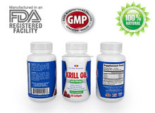 High Quality Pure North Pacific Ocean Red Krill FDA Registered GMP Certified Soft Gel 1000mg Heart Health Omega 3