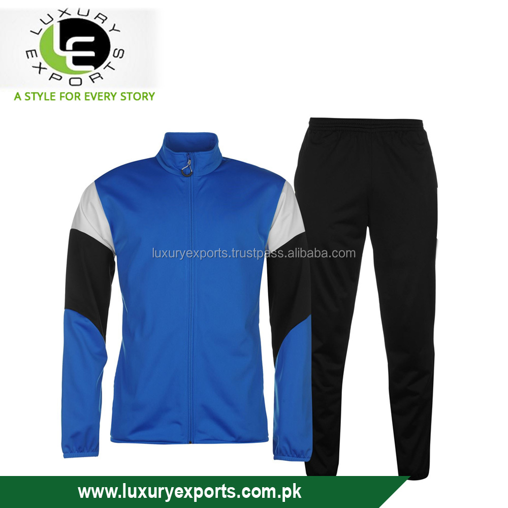 cheap price full zipped tracksuit for jogging