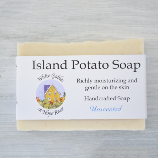 Handmade, handcrafted, natural, potato, soap