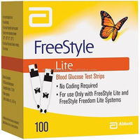 FreeStyle Lite Test Strips 100 count