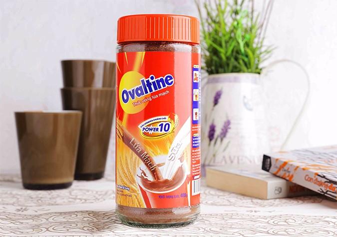Adult and baby Ovaltine milk powder 400 gr in jar