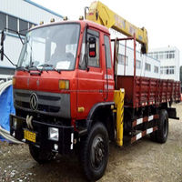 2012Y XCMG Used truck tyres mounted crane from China