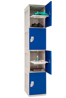 Nilko Lockers - Impact Resistant Plastic - Flawless Design, Several versions possible.