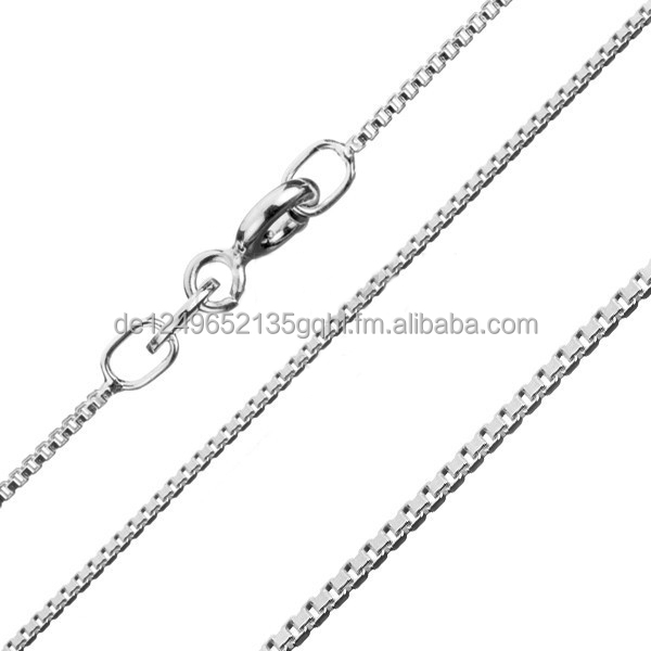 Venetian chains Brand new 925 sterling silver 16 18 20 22 24 26 28 30 inch - 0.60 mm necklaces