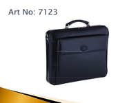 New fashion custom gift genuine italian leather Handbags executive laptop genuine leather men briefcase