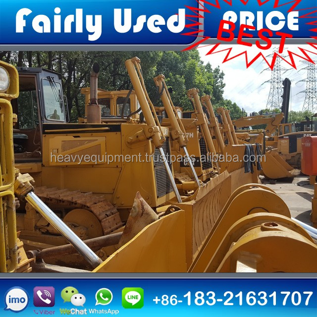 Used CAT Bulldozers D6d/D6h/D6g/D6r/D7h/D7R//D8K/D8r/D9N Dozer for sale