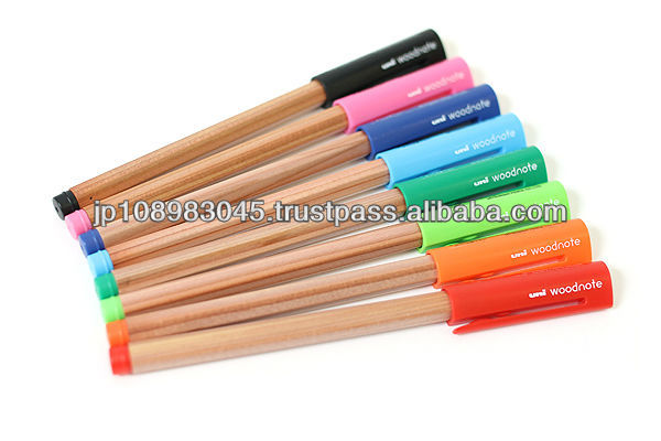 Uni-ball Woodnote Gel Ink Pen Mitsubishi brand pens made in Japan for wholesale