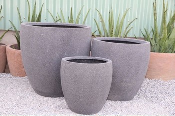 Pots Type and concrete Material fiber cement planters