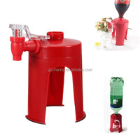 Convenient New High Quality Pattern Soda Dispense Gadget Coke Soft Drink Party Drinking Saver Dispenser Water Machine Tool