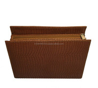 Good Quality Real Leather Cosmetic Case